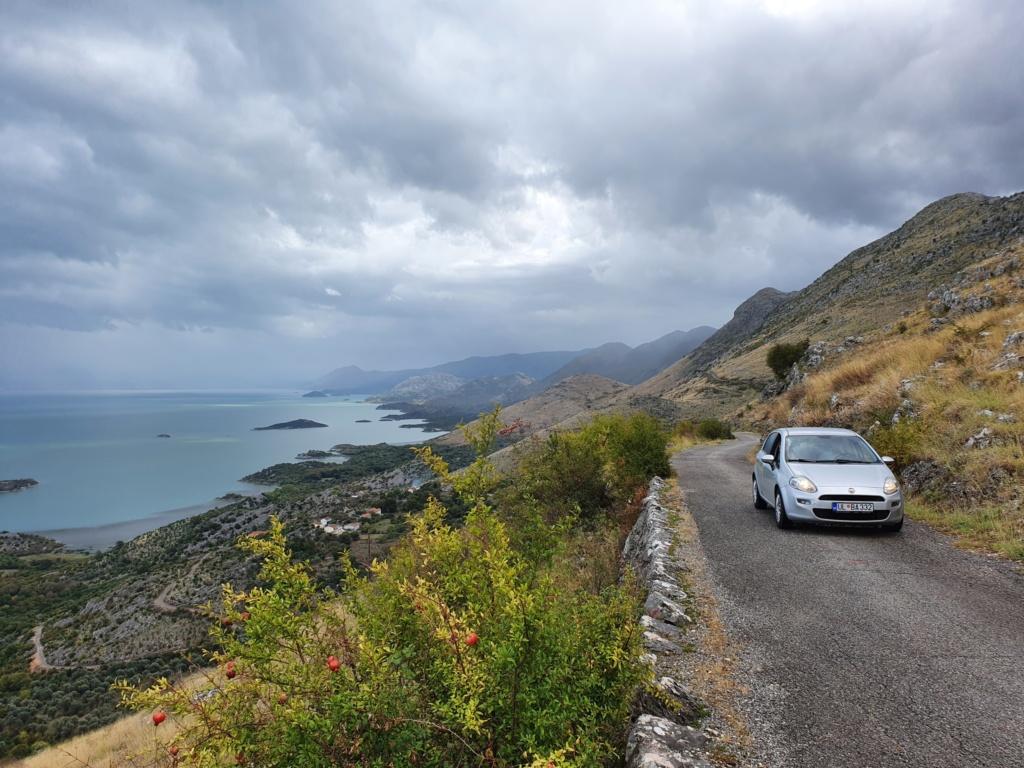 Скадарское озеро маршрут на машине