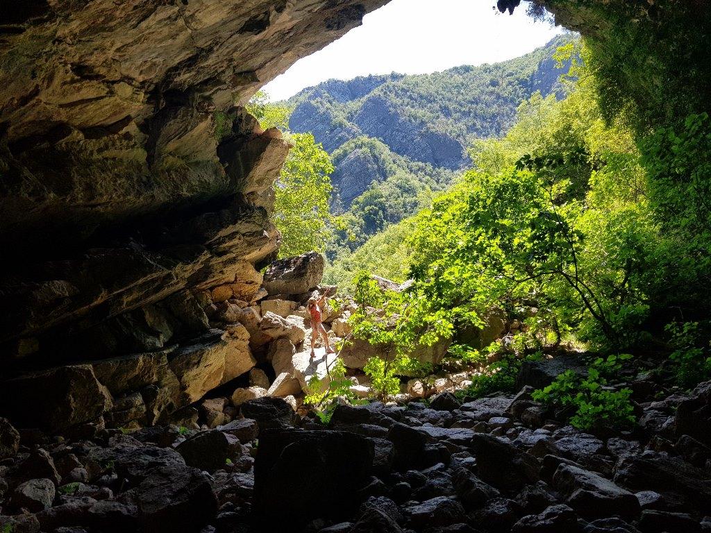 Ободская пещера в Черногории