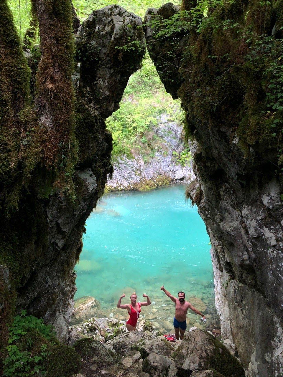 река Мртвица Черногория