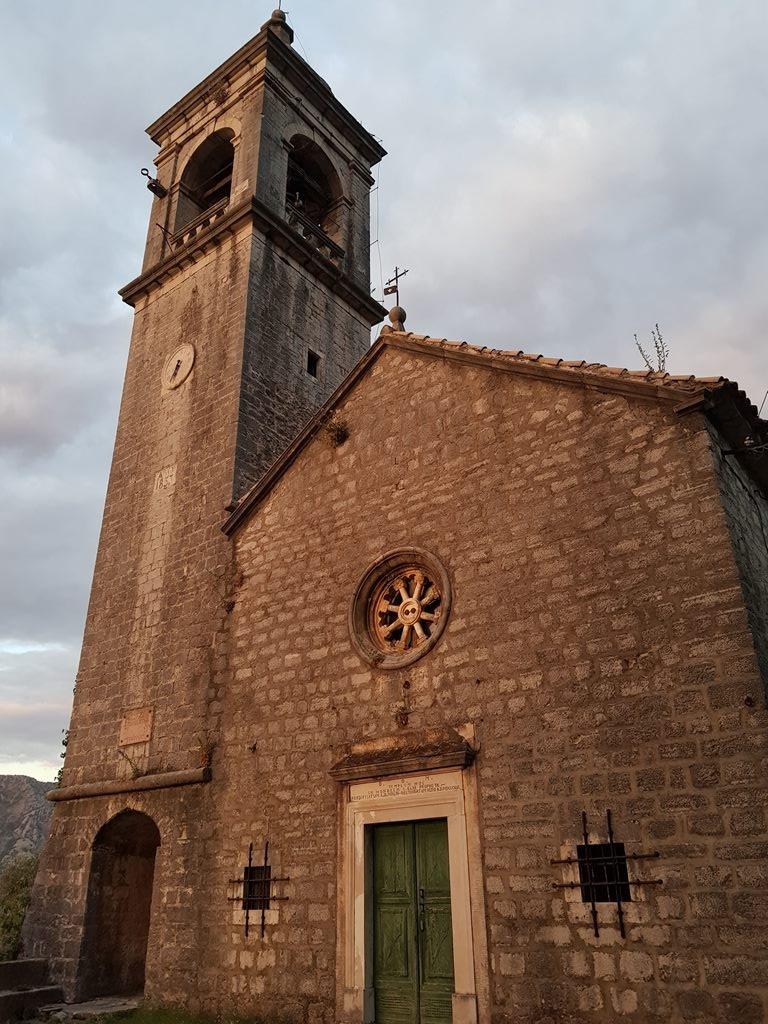 Церковь Святого Ильи, Горный Столив