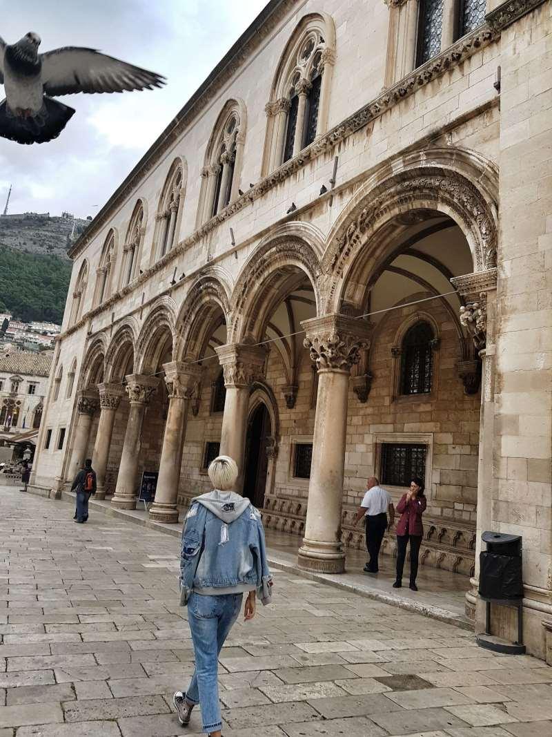 старый город дубровник хорватия