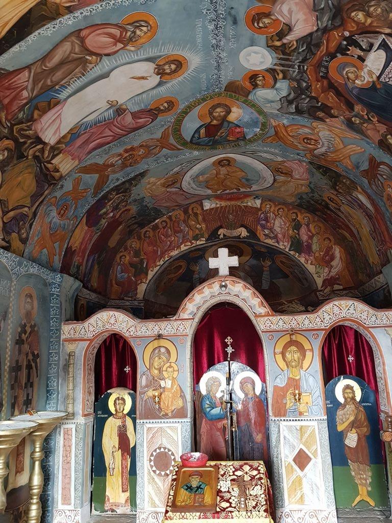 женский монастырь СВ. Спиридона Черногория