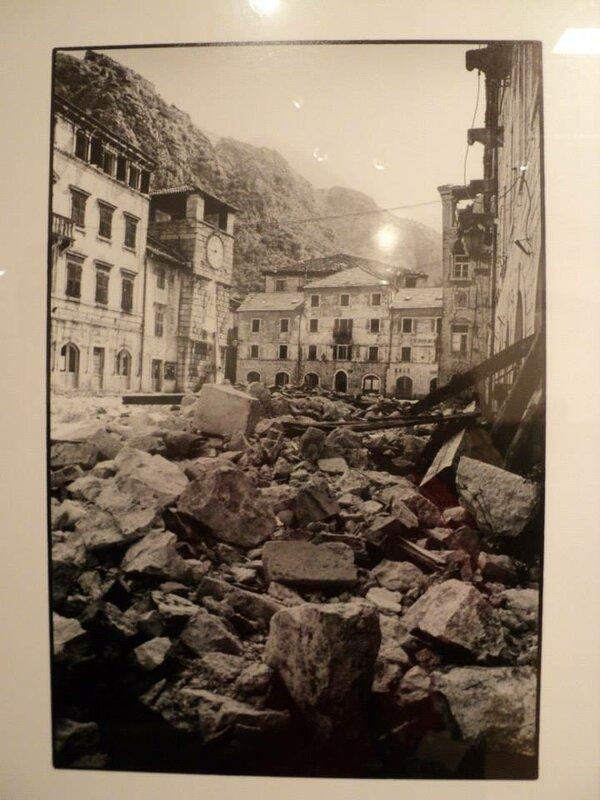 Котор в землетрясение 1979 г