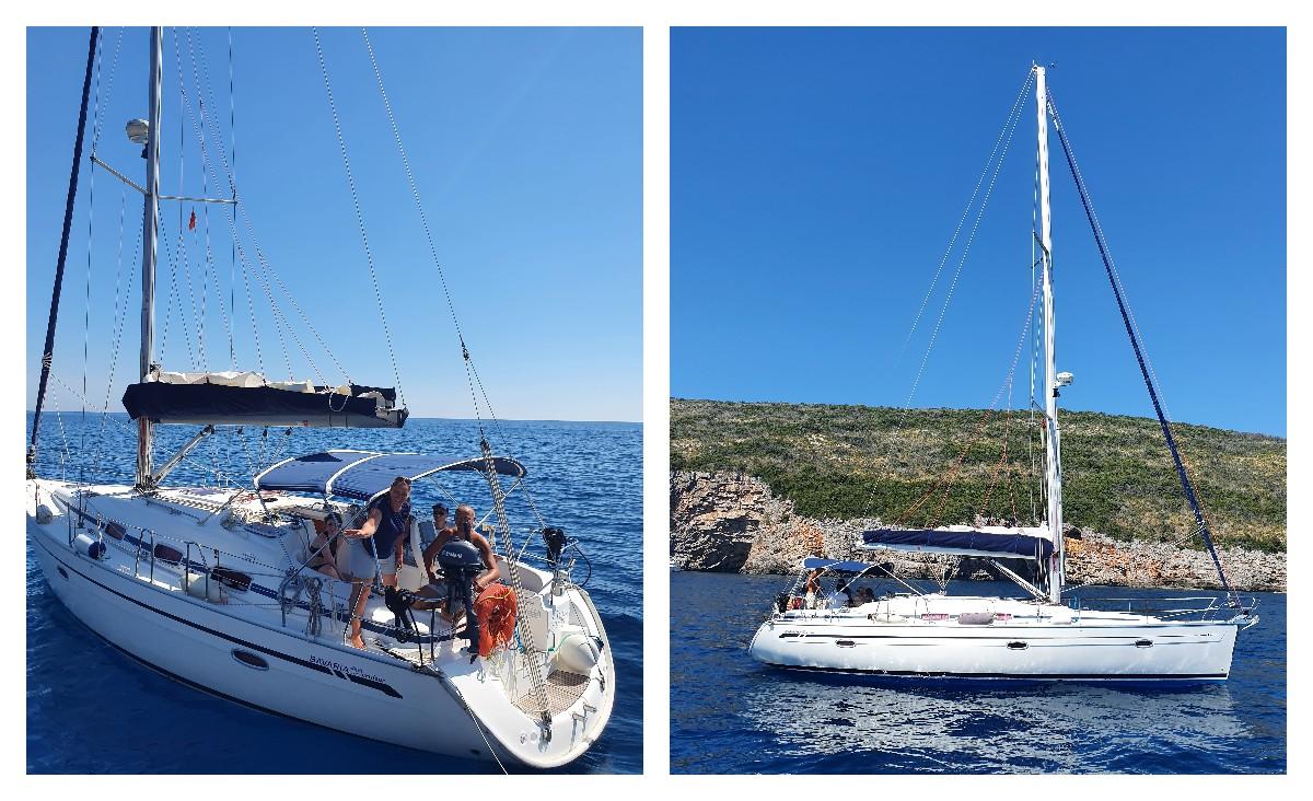 снять яхту в черногории