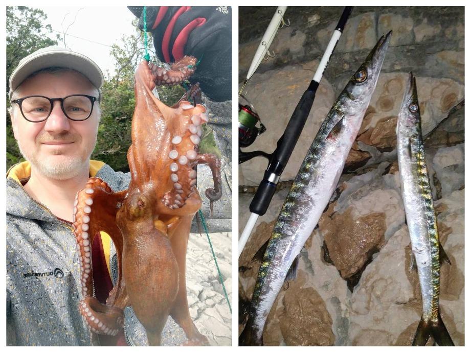 рыбалка с берега в Черногории