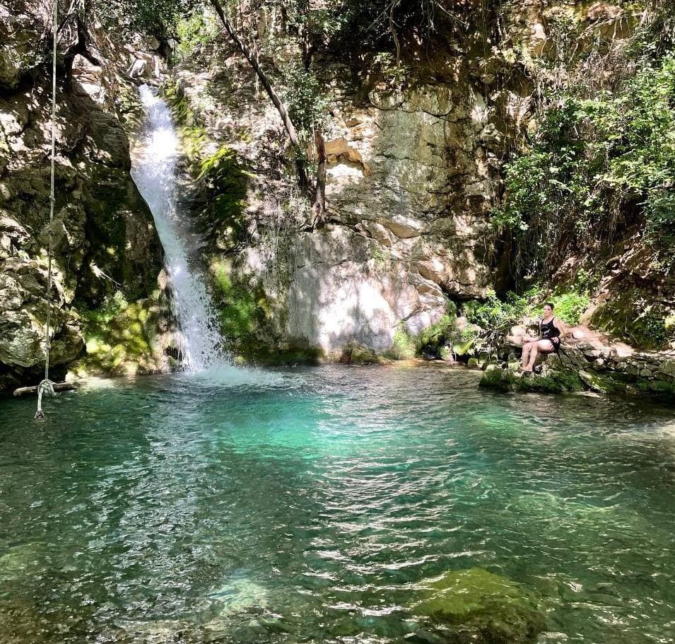 водопад в Черногории фото