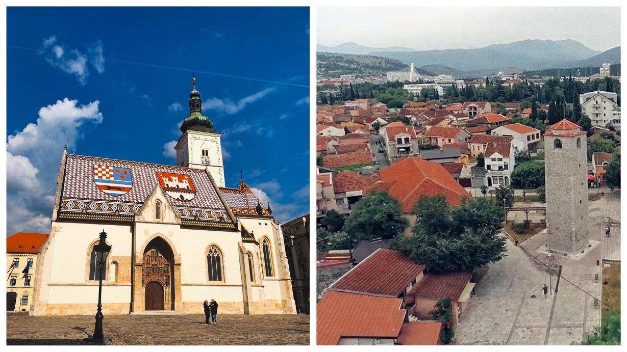 как добраться из черногории в Хорватию самолетом