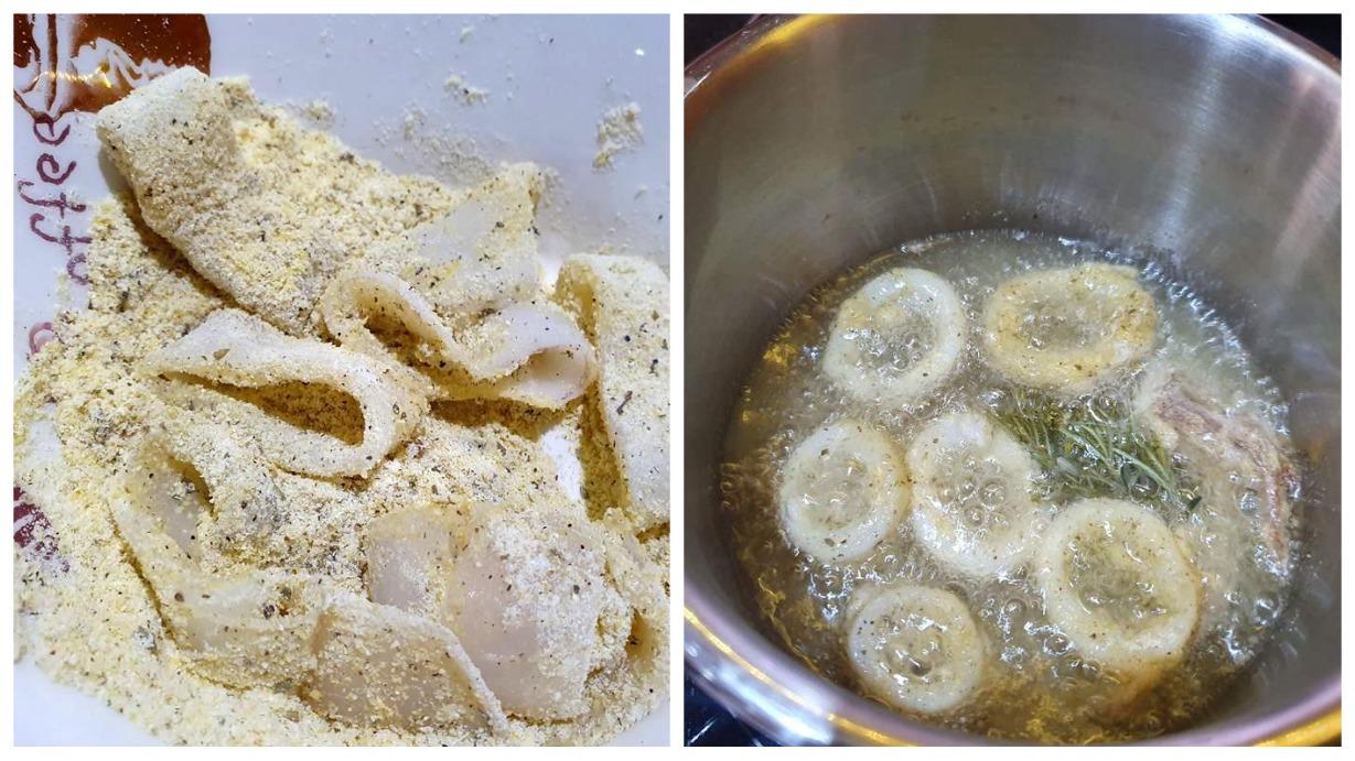 кальмары в панировке рецепт
