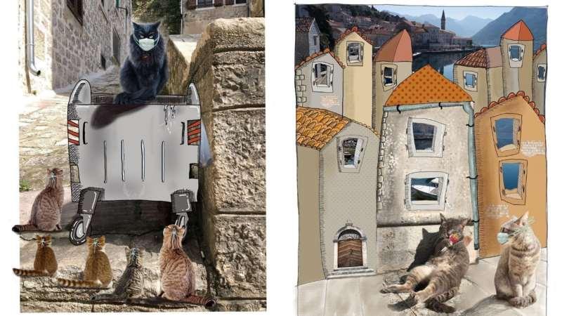 кошки Черногории