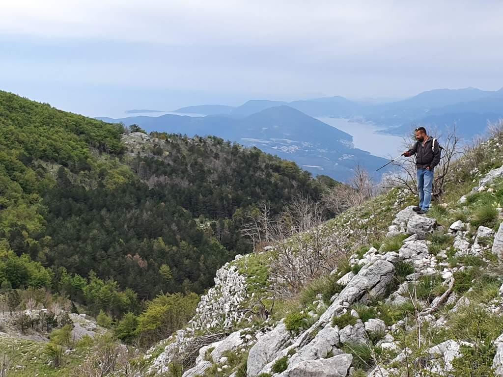 поход по горе Ловчен