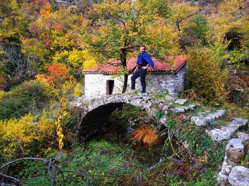 водяная мельница в Черногории