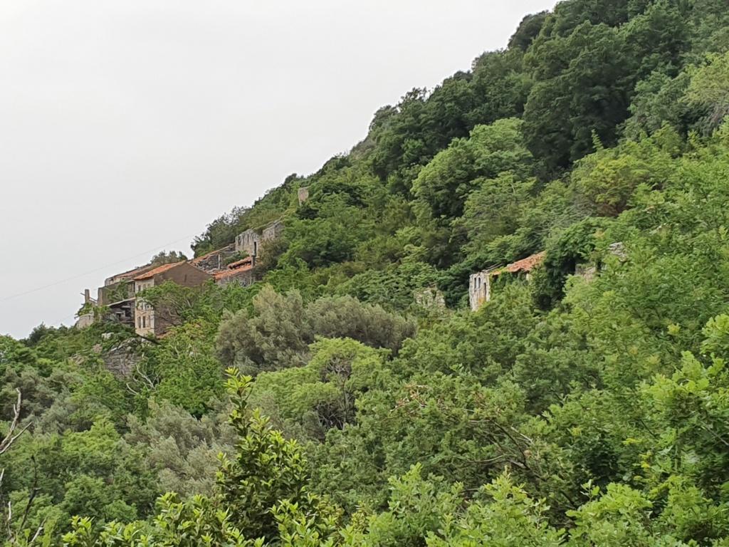 старая деревня в Черногории