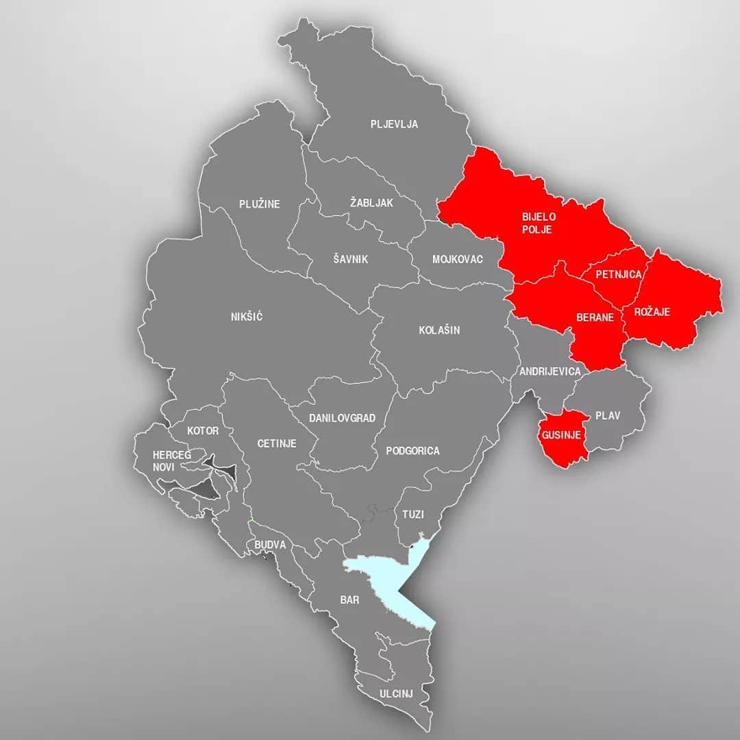 коронавирус в Черногории сегодня