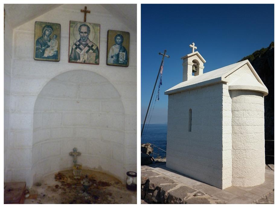 церковь на скале в Черногории