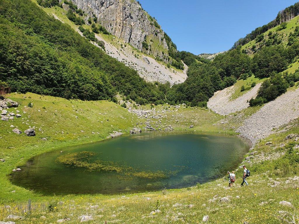 Стабанское озеро Плужине Черногория