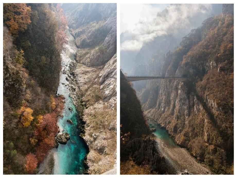 Пивское озеро Черногория