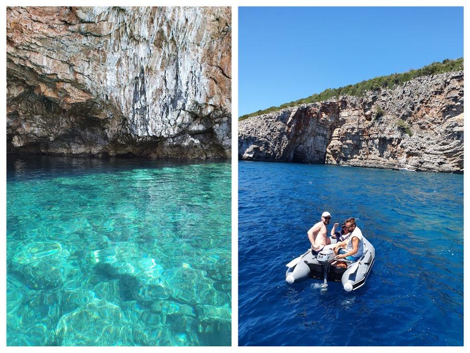 тур в голубые пещеры в Черногории