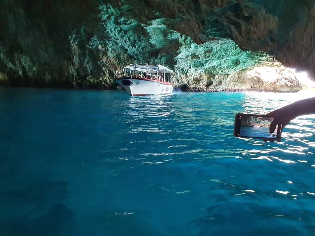 голубая пещера фото черногория