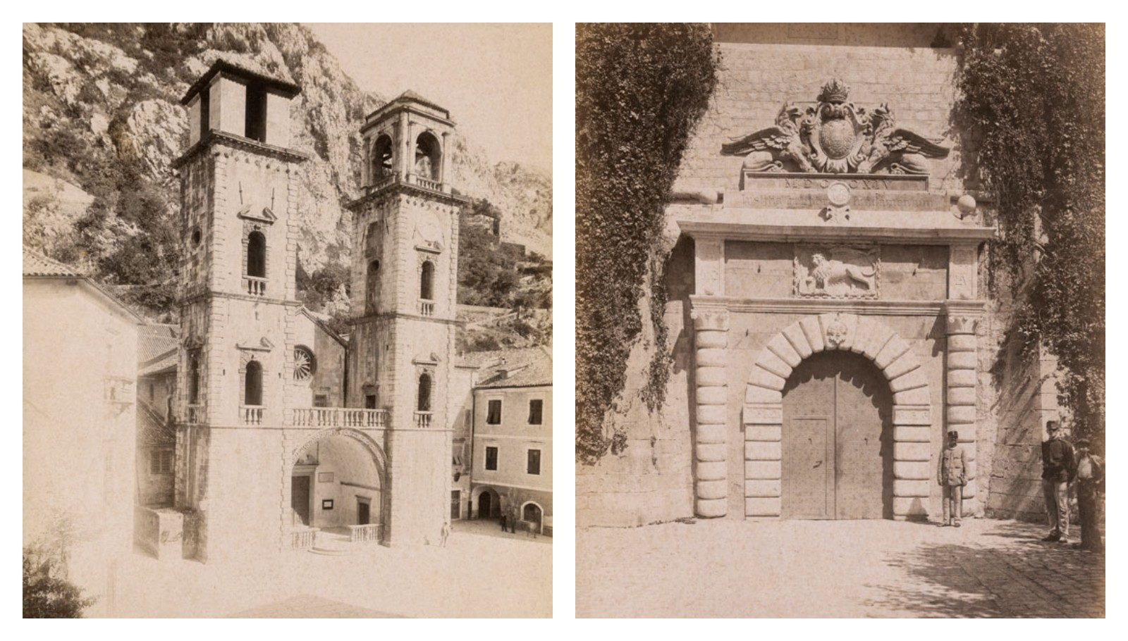 Котор Черногория старые фотографии