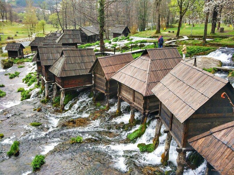город Яйце Босния