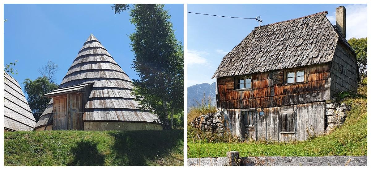 деревянная черепица в Черногории