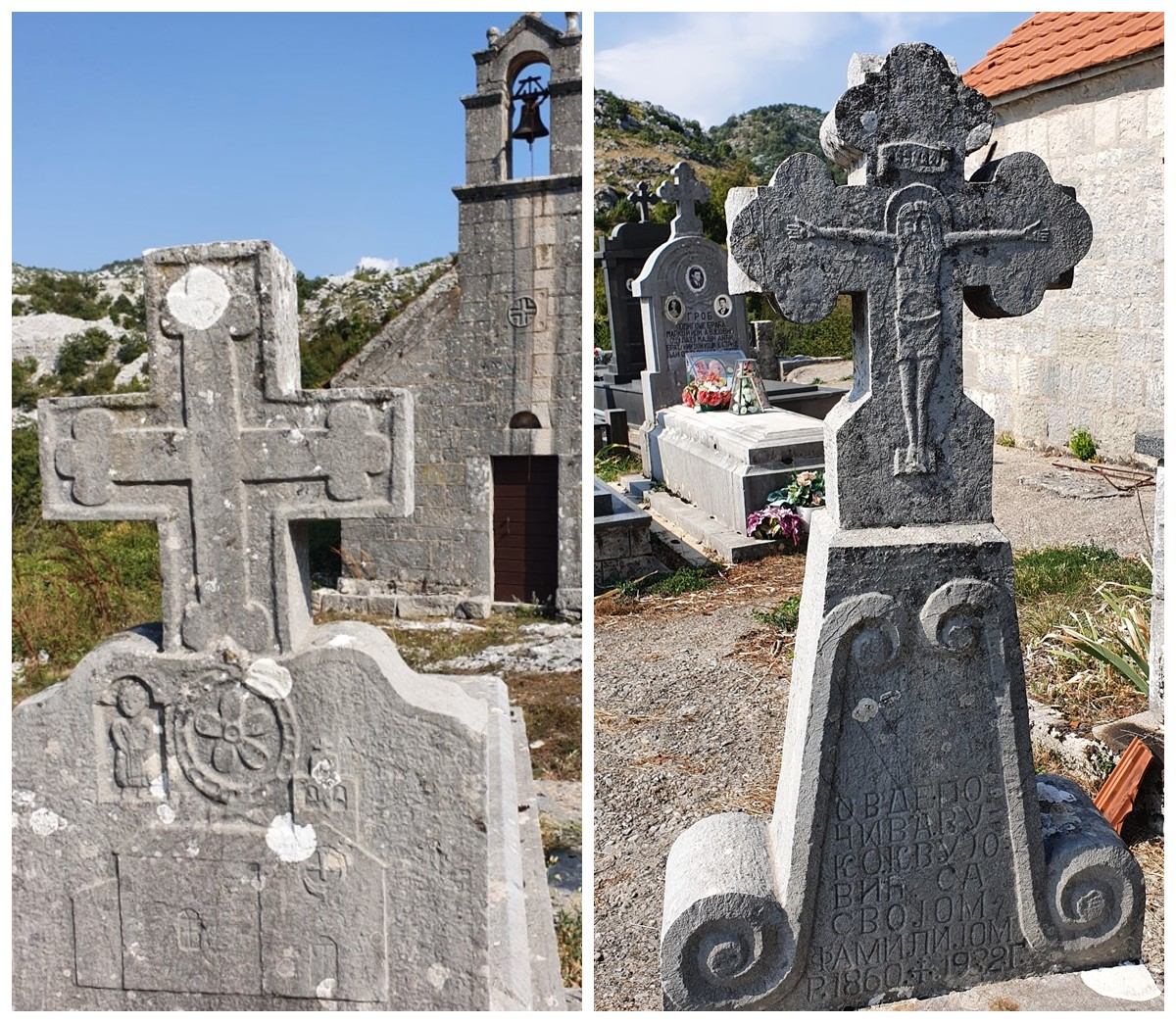 старые кладбища черногория