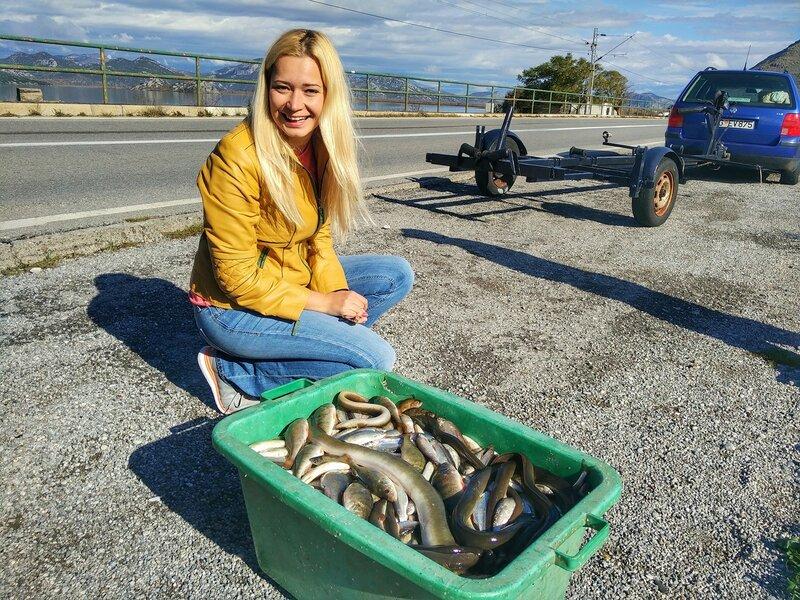 рыба в Скадарском озере