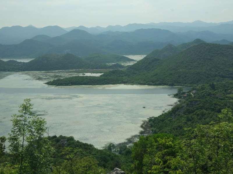 скадарское озеро на карте