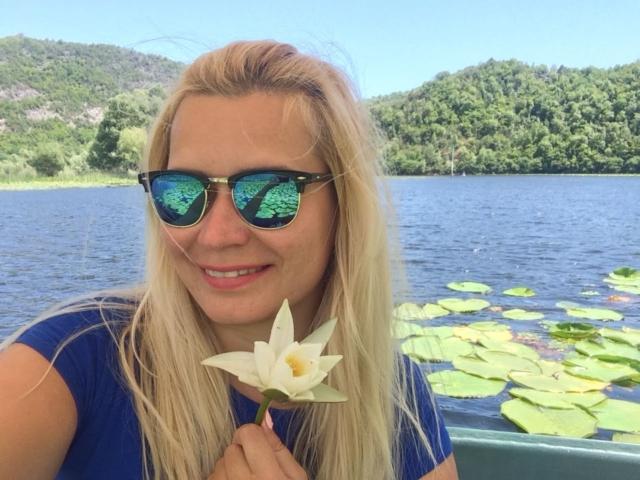 лотосы на Скадарском озере