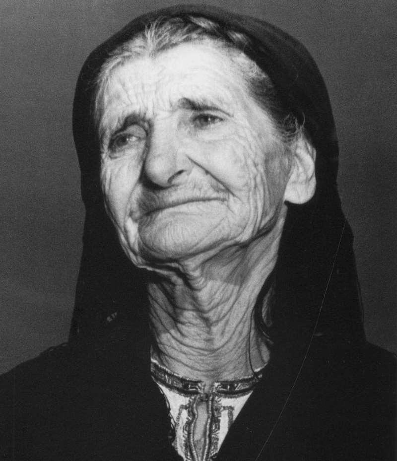 мать погибшего партизана