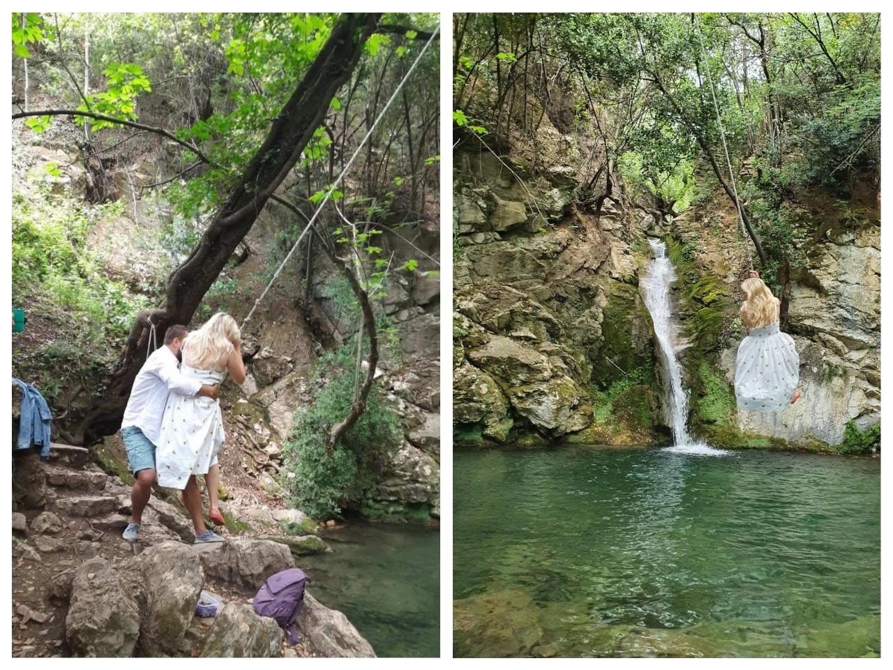 водопад в Черногории Бар