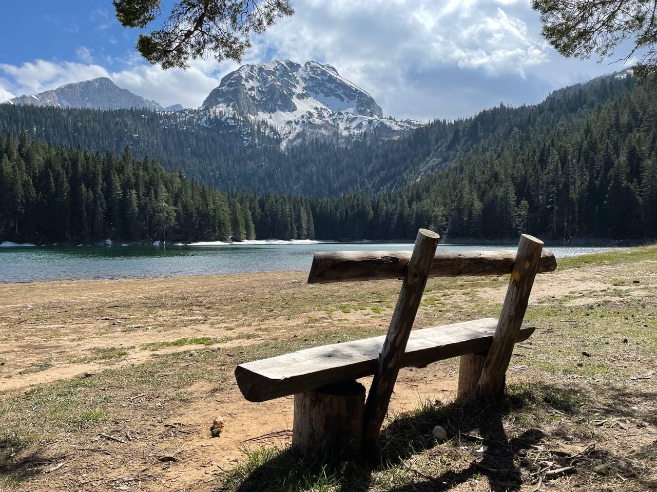 Черное озеро Дурмитор фото