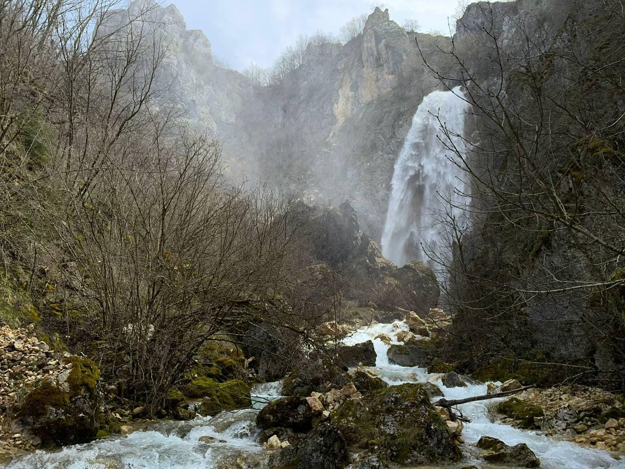водопады Черногории фото