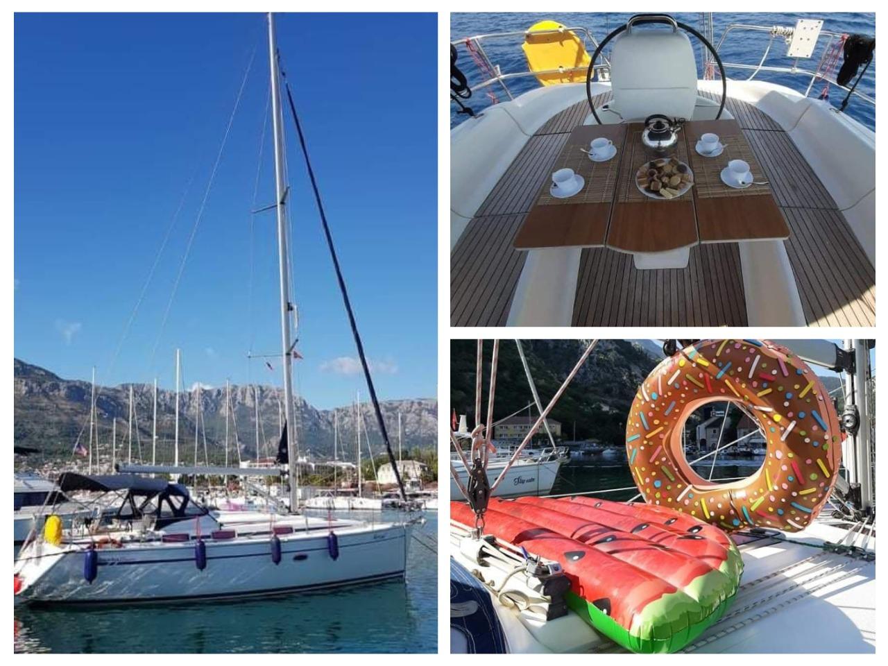 арендовать яхту в городе Бар Черногория фото цена