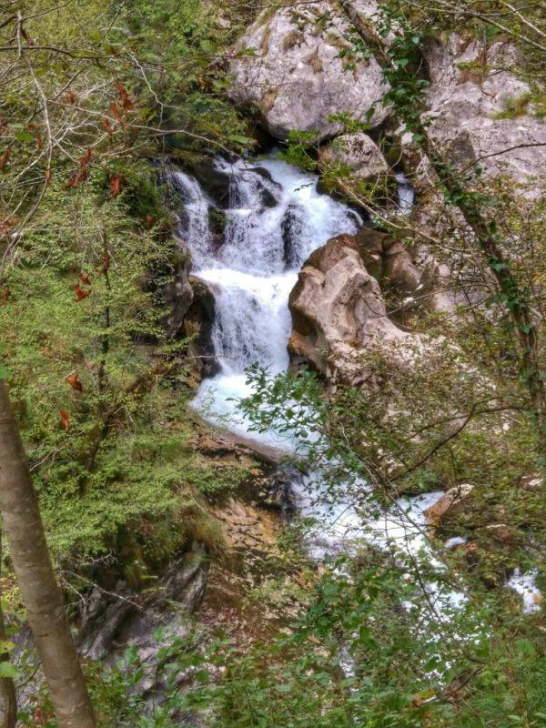 водопады в Черногории