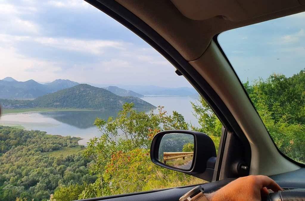 маршрут на машине из будвы к скадарскому озеру