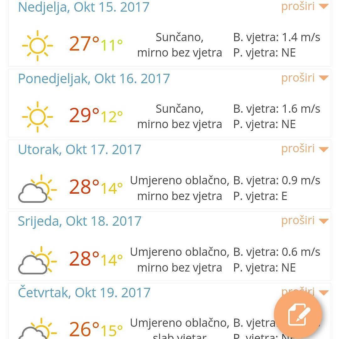 погода в октябре в Черногории
