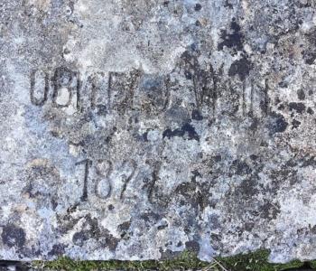 Иво Визин могила в Прчани