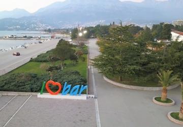 город Бар, Черногори