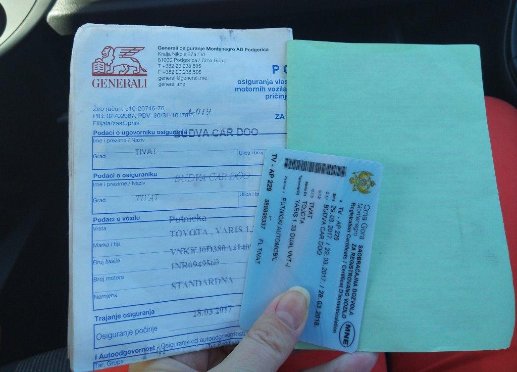 аренда авто в черногории отзывы