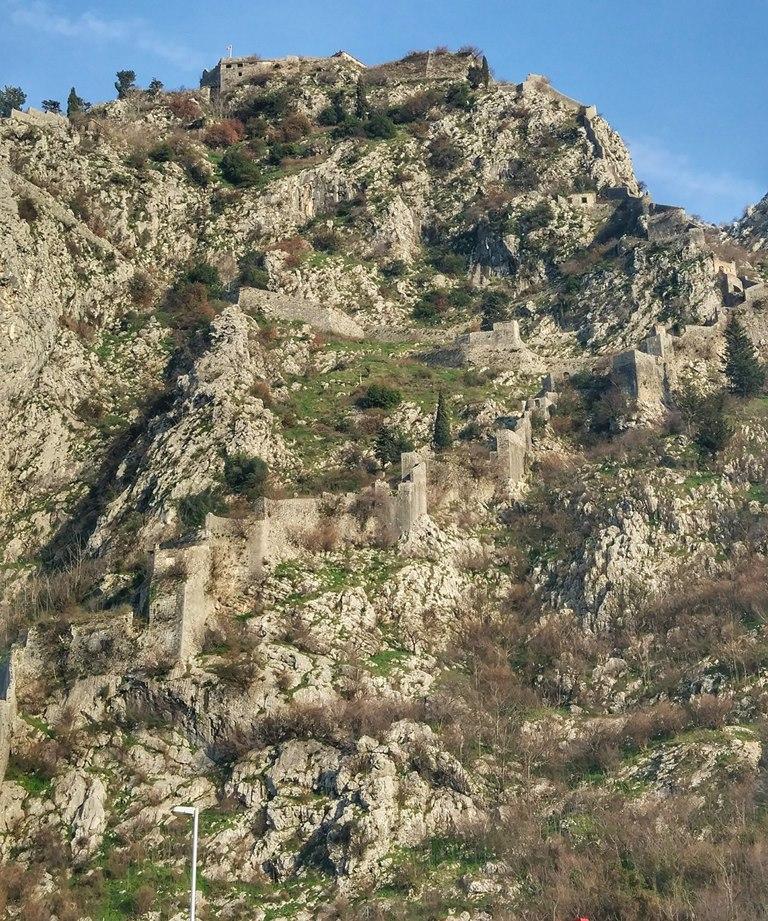 крепость святого иоанна котор