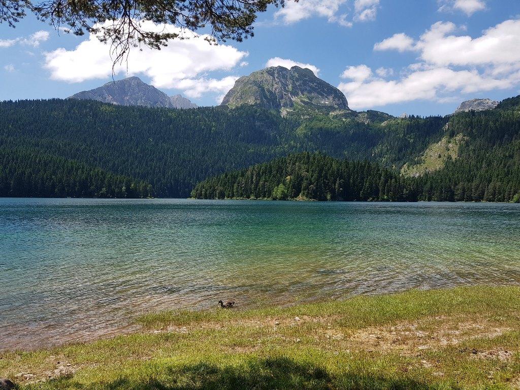 Черное озеро фото