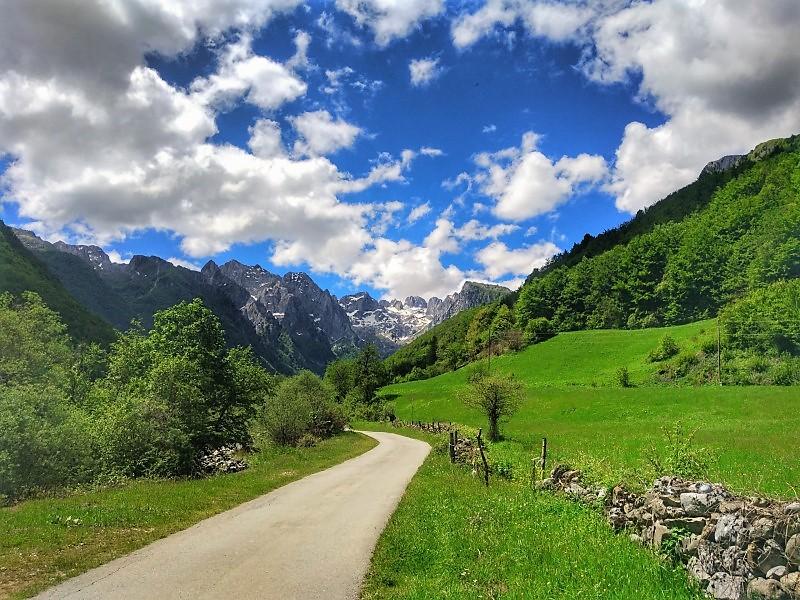 Черногория горы Проклетие