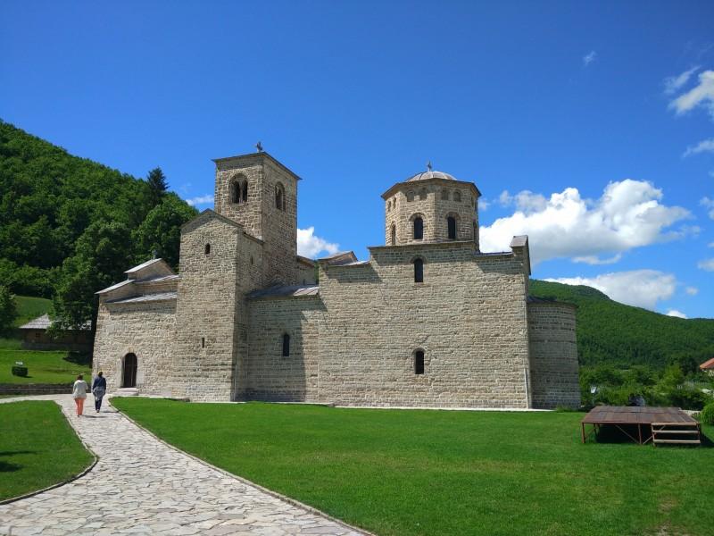 Беране, монастырь Джурджеви Ступови Черногория