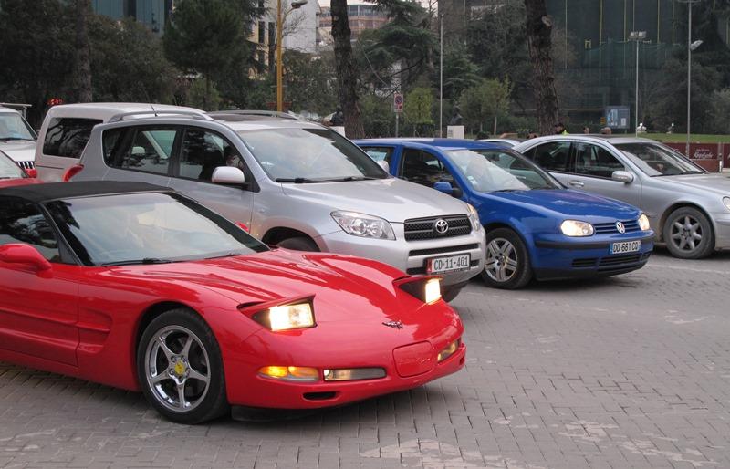 из Черногории в Албанию на машине