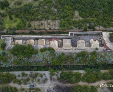 крепость Кабала на Луштице