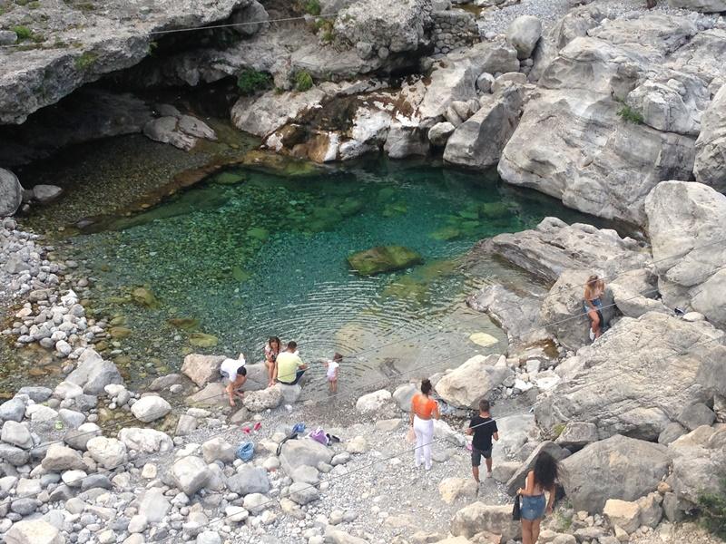река Циевна в Албании