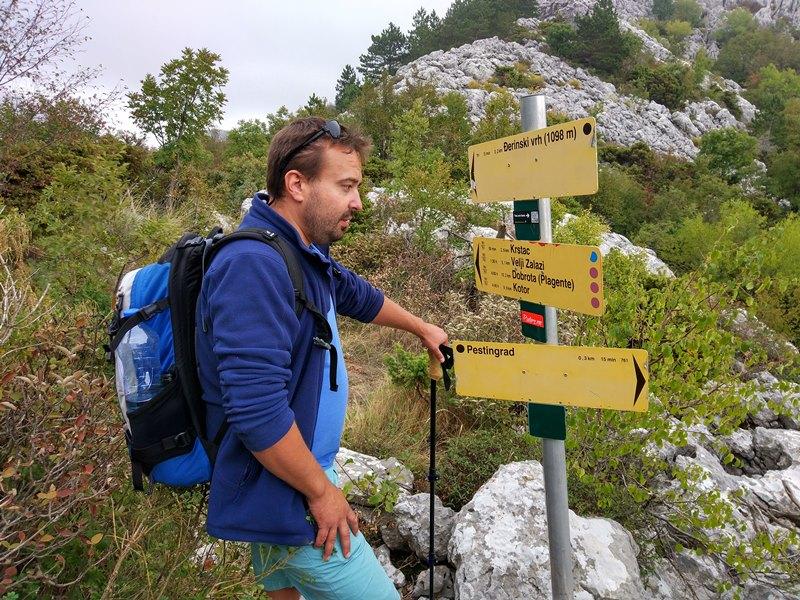 пешие маршруты в Черногории, нацпарк Ловчен