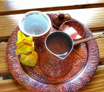 турецкий кофе в Гусинье