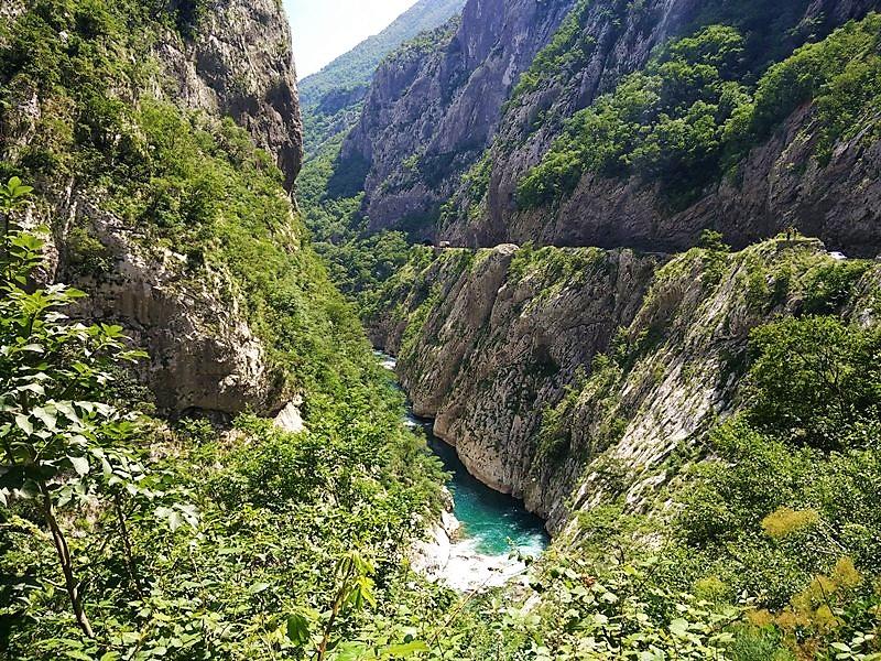 каньон Морача в Черногории